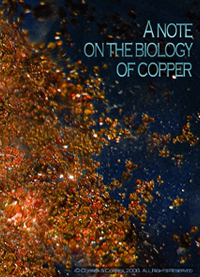[Note on the Biology of Copper]